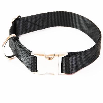 Hundehalsband Uni Schwarz