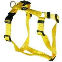 Feltmann Hundegeschirr Standard Unifarben Gelb orange / 35 - 50 cm / 03 bis 06 kg / 15 mm