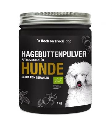 Back on Track® - Hagebuttenpulver Futterzustz für Hunde