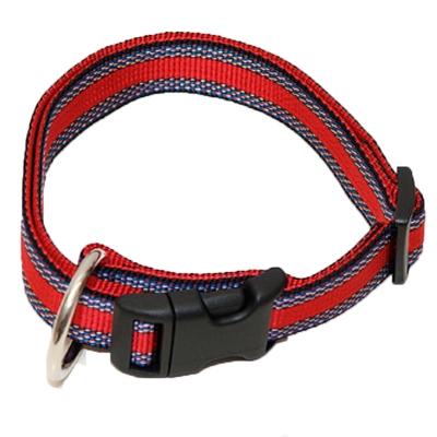 Hundehalsband Nylon Muster WienerLock Steckschloss®