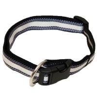 Hundehalsband Wienerlock Steckschloss Sonderangebot Weiß