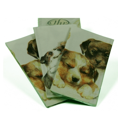 Taschentücher mit Hundemotiv