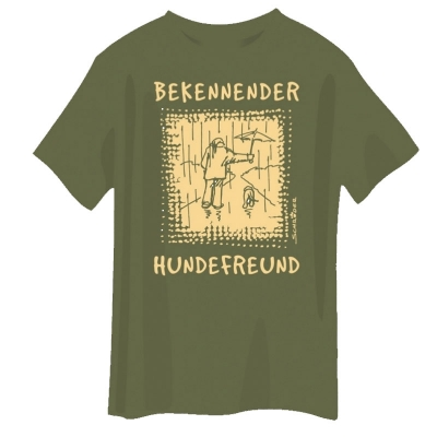 T-Shirt mit Hundemotiv - Bekennender Hundefreund