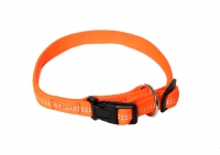Hundehalsband Super Soft neonorange